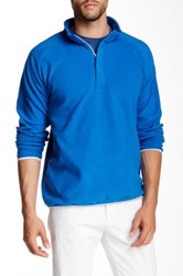 Peter Millar Marseille Hid Zip Fleece Pullover