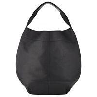 Kin By John Lewis Sonja Leather Hobo Bag Black