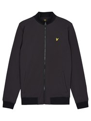 Lyle And Scott Zip Soft Shell Jacket Black