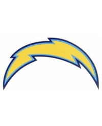 Rico Industries San Diego Chargers Static Cling Decal Team Color