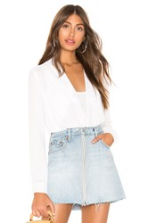 Bailey 44 Breakwater Georgette Top White