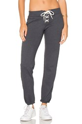 Monrow Football Sweatpant Blue