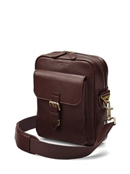 Aspinal Of London Harrison Small Messenger Brown