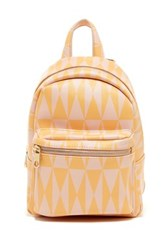 Cynthia Rowley Abbie Small Backpack Yellow