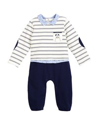Mayoral Outfit Look Coverall W Dog Pocket Size 1 9 Months Blue