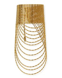 Auden Leighton Layered Chain Collar Necklace Gold