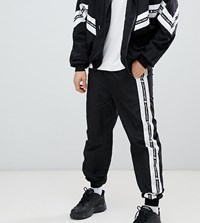 Sixth June Shell Joggers In Black