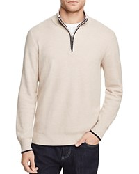 Tailorbyrd Quarter Zip Sweater Oatmeal