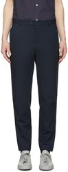 A.P.C. Navy Douglas Slim Trousers