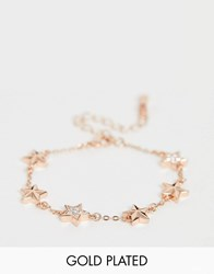 Ted Baker Shaena Rose Gold Plated Star Bracelet