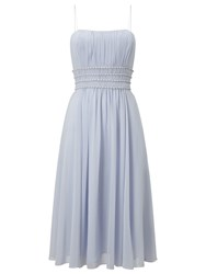 Phase Eight Bridal Paola Short Beaded Dress Dusty Blue