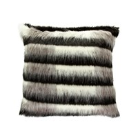 Zoeppritz Since 1828 Skunk Cushion Black 60X60cm