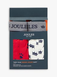 Joules Crown Boxer Shorts Pack Of 2 Top Dog