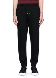 Mcq By Alexander Mcqueen Swallow Patch Sweatpants Black