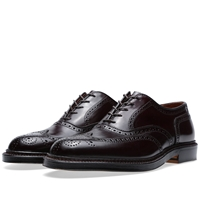 Alden Wing Tip Bal Oxford Dark Burgundy Cordovan