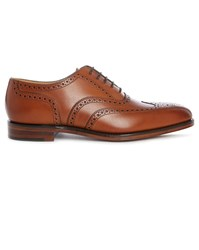 Loake Brown Buckingham Leather Brogues