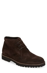 Men's Boemos Suede Chukka Boot Brown