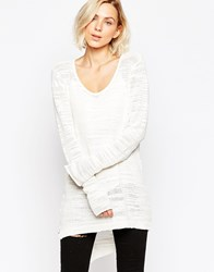 Gestuz April Longline Jumper Brightwhite