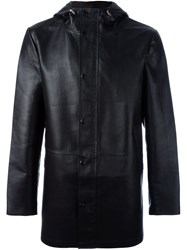 Desa 1972 Hooded Coat Black