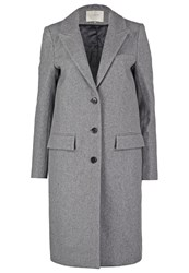 Selected Femme Sfconstract Classic Coat Light Grey Melange Mottled Light Grey