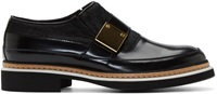 Mcq By Alexander Mcqueen Black Chatsworth Monk Strap Shoes