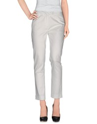 Le Ragazze Di St. Barth Trousers Casual Trousers Women White