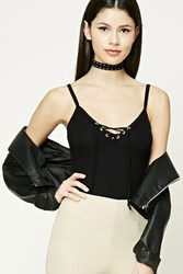 Forever 21 Lace Up Cami