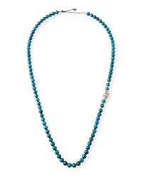 Armenta Old World Apatite And Boulder Opal Bead Necklace Yellow Black