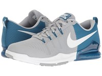 Nike Zoom Train Action Industrial Blue White Coastal Blue Men's Cross Training Shoes Gray