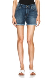 Mih Jeans Phoebe Short In Blue