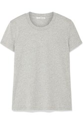 James Perse Vintage Boy Cotton Jersey T Shirt Gray