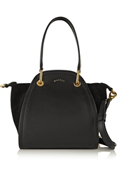 Maiyet Peyton Mini Leather And Suede Shoulder Bag