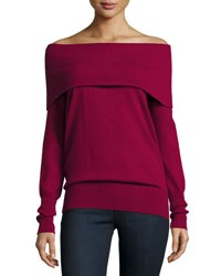Christopher Fischer Cashmere Off The Shoulder Sweater Casisse