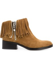 3.1 Phillip Lim 'Alexa' Ankle Boots Brown