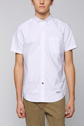 Cpo Left Coast Oxford Button Down Shirt White