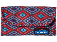 Kavu Big Spender Sw Quilt Wallet Handbags Brown