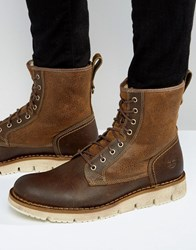 Timberland Westmore Faux Shearling Boots Tan Brown