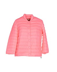313 Tre Uno Tre Coats And Jackets Down Jackets Women Fuchsia