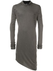 Lost And Found Ria Dunn Cowl Neck Top Grey