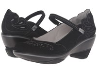 Jambu Bombay Black Grey Women's Wedge Shoes