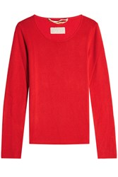 81 Hours Carnabi Cashmere Pullover Red
