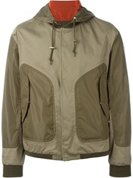 Moncler 'Bryan' Windbreaker Jacket Nude And Neutrals