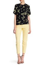 Nydj Clarissa Colored Stretch Skinny Ankle Jean Petite Yellow