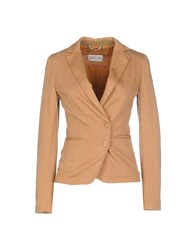 Anissej Life Suits And Jackets Blazers Women Camel