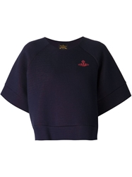 Vivienne Westwood Anglomania Cropped Boxy Sweatshirt
