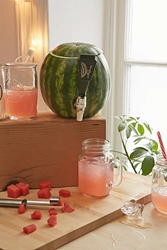 Urban Outfitters Watermelon Keg Tapping Kit Black