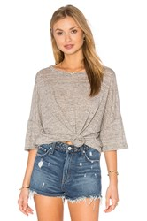 Craft And Commerce Oversize Boxy Tee Gray