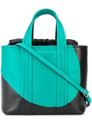 Pierre Hardy Archi Tote Green