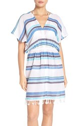 Tommy Bahama Women's Stripe Gauze Cover Up Dress