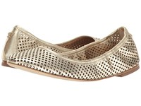 Tory Burch Jesse Ballet Spark Gold Women's Shoes Brown